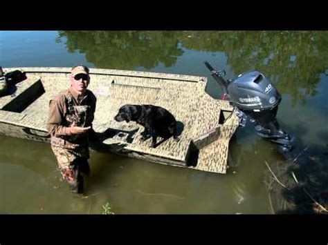 Xpress Boat Duck Blind by J Paul Jackson Floatation Pods On Xpress Duck Boat