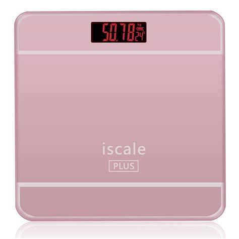 timbangan badan digital black timbangan badan digital dengan indikator suhu taffware