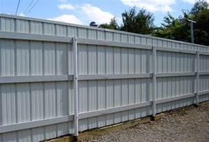 Corrugated Metal Fence Corrugated Metal Fence Home Design