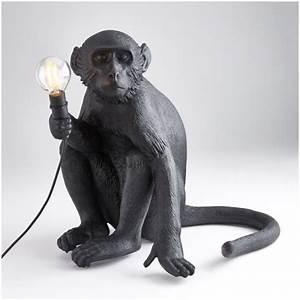 Seletti Monkey Lamp : seletti sitting monkey lamp black iwoot ~ Buech-reservation.com Haus und Dekorationen