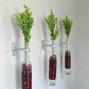 Pflanze In Flasche : deko flaschen 44 vorschl ge wie sie eine untypische deko schaffen ~ Whattoseeinmadrid.com Haus und Dekorationen