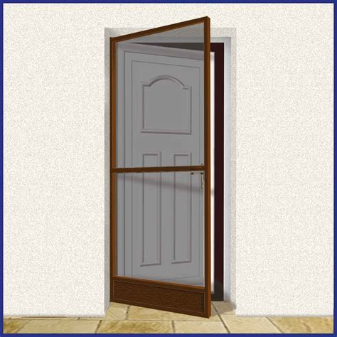door for screen door domestic aluminium hinged fly screen door