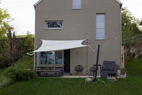 Sonnensegel Zum Einrollen by Sonnensegel Bauforum Auf Energiesparhaus At