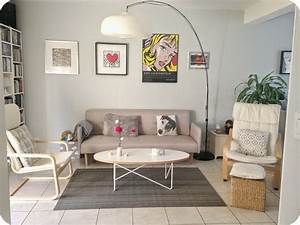 Deco Pour Salon : mon salon scandinave pour moins de 300 c 39 est possible ~ Premium-room.com Idées de Décoration