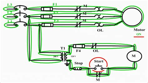 Motor Control Circuit Diagram Start Stop Wire