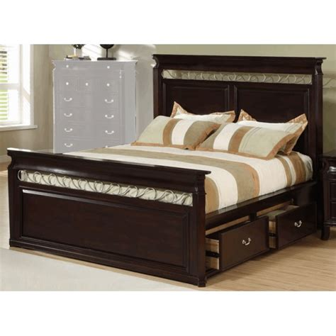 Headboard Designs For King Size Beds by Create A Storage Bedroom With King Size Bed Frame With