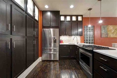 dark cabinets with wood floors dark hardwood floors with dark cabinets home furniture