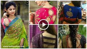 20-Stunning-And-Unique-Saree-Blouse-Designs-video