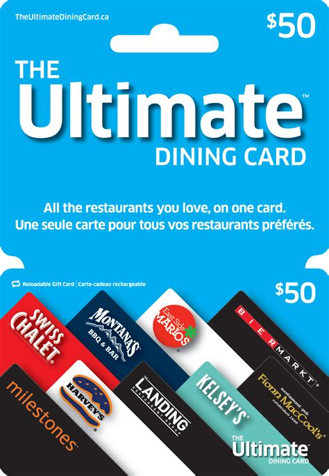 The Ultimate Dining Card $50