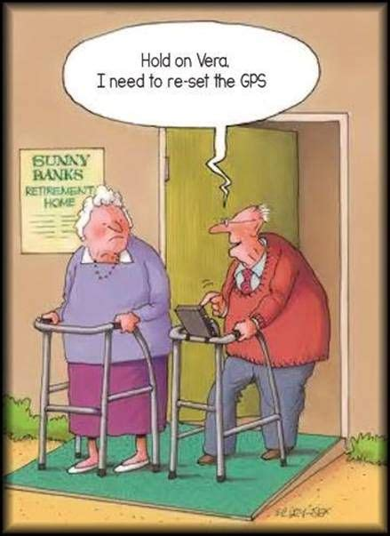 Growing Old | Senior humor, Old age humor, Funny old people