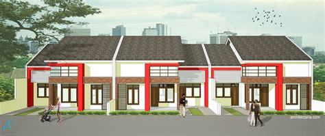 desain rumah mungil type  pt architectaria media cipta