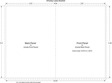 cd booklet template dvd amaray booklet templates for duplication and replication