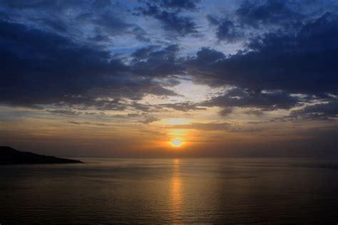 รูปภาพ : ทะเล, ชายฝั่ง, มหาสมุทร, ขอบฟ้า, เมฆ, ดวงอาทิตย์ ...