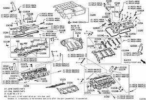 2007 Toyota Avalon Engine Variable Valve Timing  Vvt
