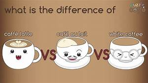 Café Au Lait : what is the difference of caff latte caf au lait ~ Carolinahurricanesstore.com Idées de Décoration