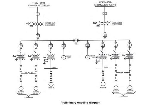 Single Line Diagram by Electrical Single Line Diagram Part Two Electrical Knowhow
