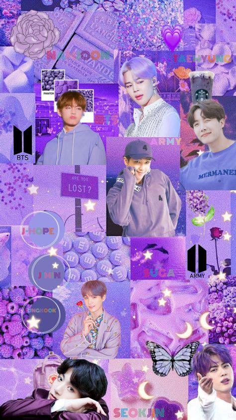 10 ideas de bts purple ot7 bts fondo purpura para