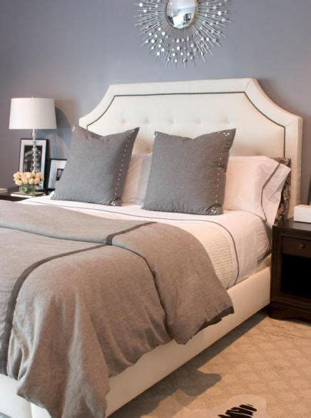 Feng Shui Headboard Shape by Erinn Valencichi Gorgeous Gray Bedroom Design With Gray