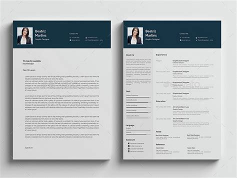 photoshop resume template best free resume templates in psd and ai in 2018 colorlib