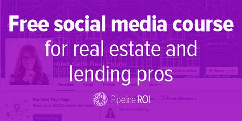 free social media courses free social media course for real estate and lending pros