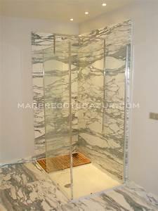 Marbre Salle De Bain : salle de bains en marbre arabescato corchia fabrication ~ Dailycaller-alerts.com Idées de Décoration