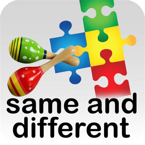 Autism Ihelp  Same And Different On The App Store