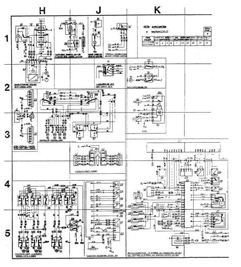 volvo 244 1989 wiring diagrams instrumentation carknowledge