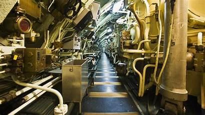 Submarine Inside Submarines Interiors Reference Station Under