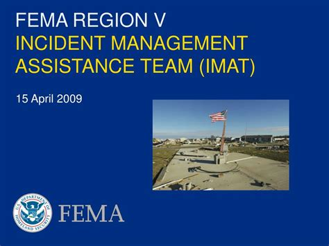 fema region  incident management assistance team