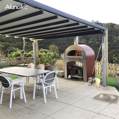 electric outdoor aluminum retractable awnings buy aluminum retractable awnings pvc pergolas