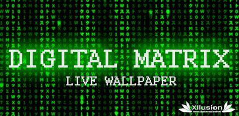 Digital Live Wallpaper by Digital Matrix Live Wallpaper Apps On Play