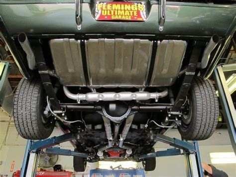 1969 Camaro Chambered Exhaust System Muscle Car Exhaust