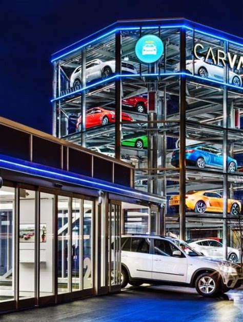 Carvana Launches World's First Car Vending Machine In