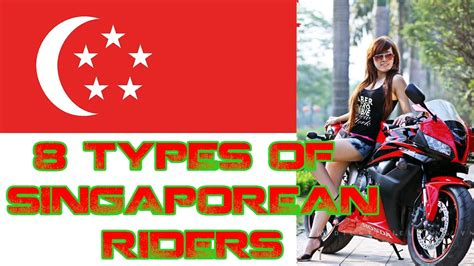 8 Types Of Motorcycle Riders You Will Meet In Singapore