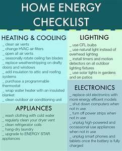 Home Energy Checklist by Woodard Cleaning & Restoration in ...