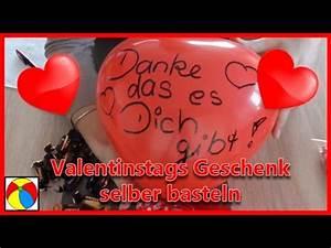 Geschenk Selber Basteln : valentinstag geschenk selber machen geschenkideen diy basteln mit kindern youtube ~ Watch28wear.com Haus und Dekorationen