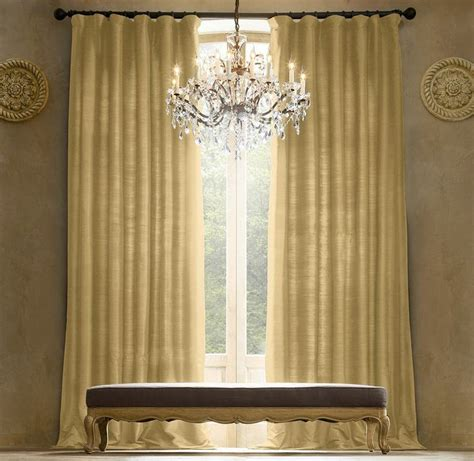 thai silk solid drapery curtains blinds