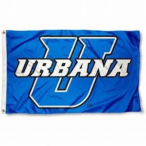 Urbana Blue Knights Flag and Urbana Blue Knights Flags