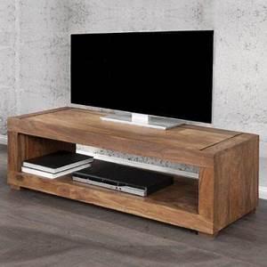 Tv Rack Holz : cag tv tisch fernsehtisch mumbai aus sheesham massiv holz gewachst 120cm k che ~ Whattoseeinmadrid.com Haus und Dekorationen
