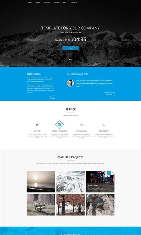 Twitter Bootstrap Html Templates Free Download by 26 Best Free Bootstrap Html5 Website Templates February