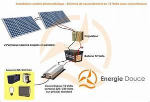 Installation Panneau Solaire : schema installation panneau solaire photovoltaique ~ Dode.kayakingforconservation.com Idées de Décoration