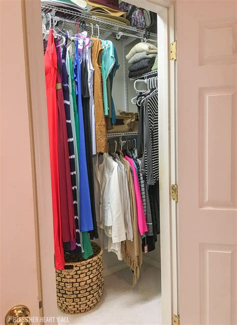 Easy Master Closet Organization  Bless Her Heart Y'all