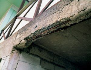 concrete spalling foundation masters