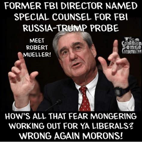 Mueller Memes - former fbi director named special counsel for fbi russia trump probe meet aen robert mueller