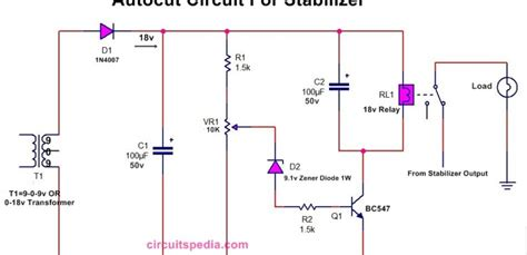 Autocut Circuit Diagram For Stabilizer High