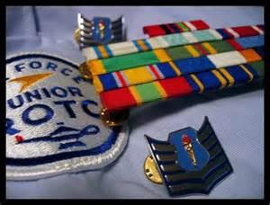 virtual ribbon rack air force junior rotc