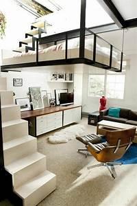 Hochbett Mit Zwei Betten : jugendzimmer mit hochbett 90 raumideen f r teenagers ~ Whattoseeinmadrid.com Haus und Dekorationen
