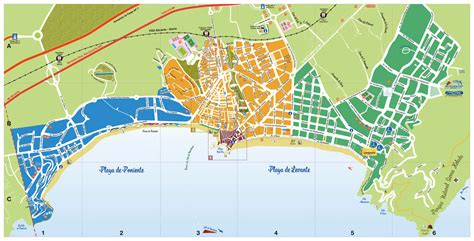 large benidorm maps     print high