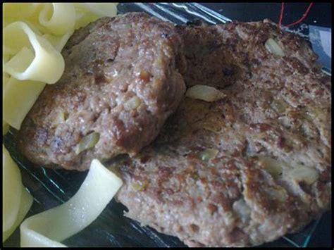 recette steak hache maison les meilleures recettes de steak hach 233