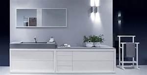 salle de bain grise 65 idees du gris taupe a l39ardoise With idee salle de bain grise